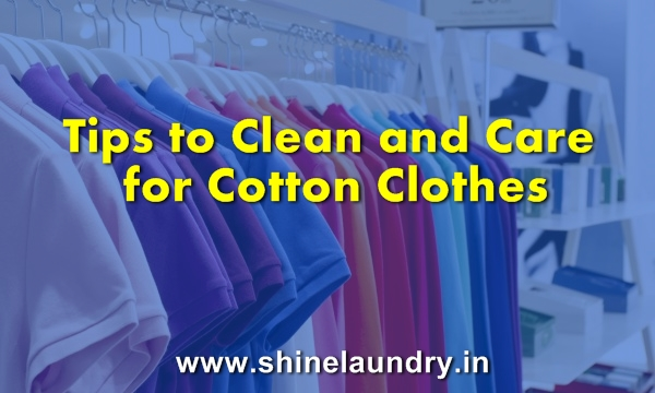 Tips to Clean and Care for Cotton Clothes Cotton is a common fabric source for towels, sheets, lingerie and almost every kind of apparel. Before you wash a garment, always check the manufacturer's care label for special instructions. If you want to absolutely prevent any shrinkage, cotton is best washed by hand. This isn't practical for most people, so follow these general guidelines when washing cotton clothing.