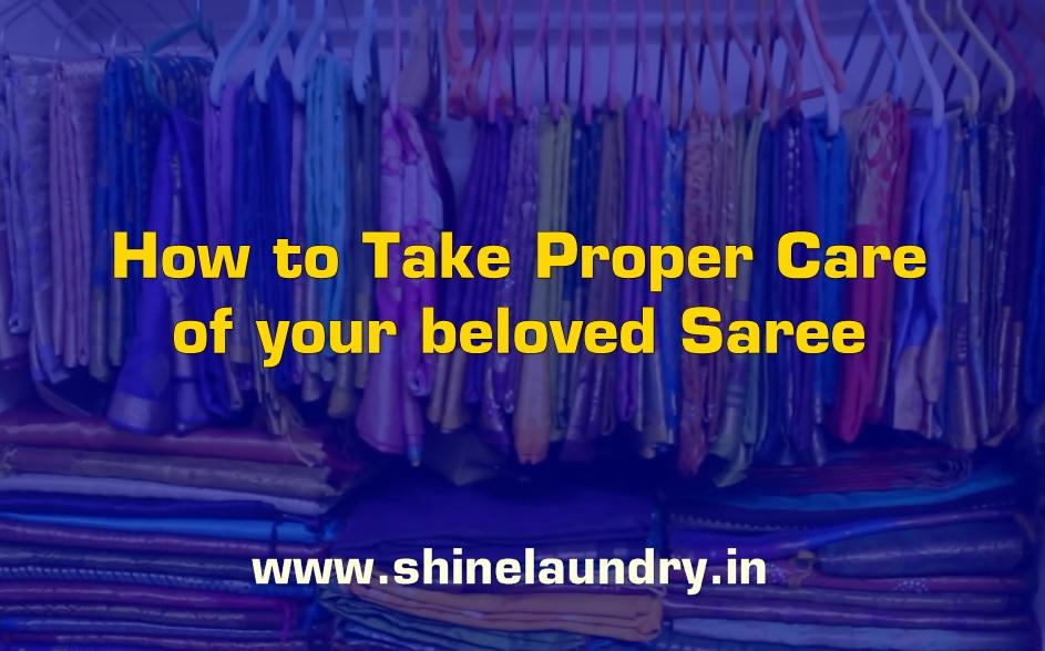 Sari laundry and Dry Cleaning Bhubaneswar Shine Laundry WASH AND CARE